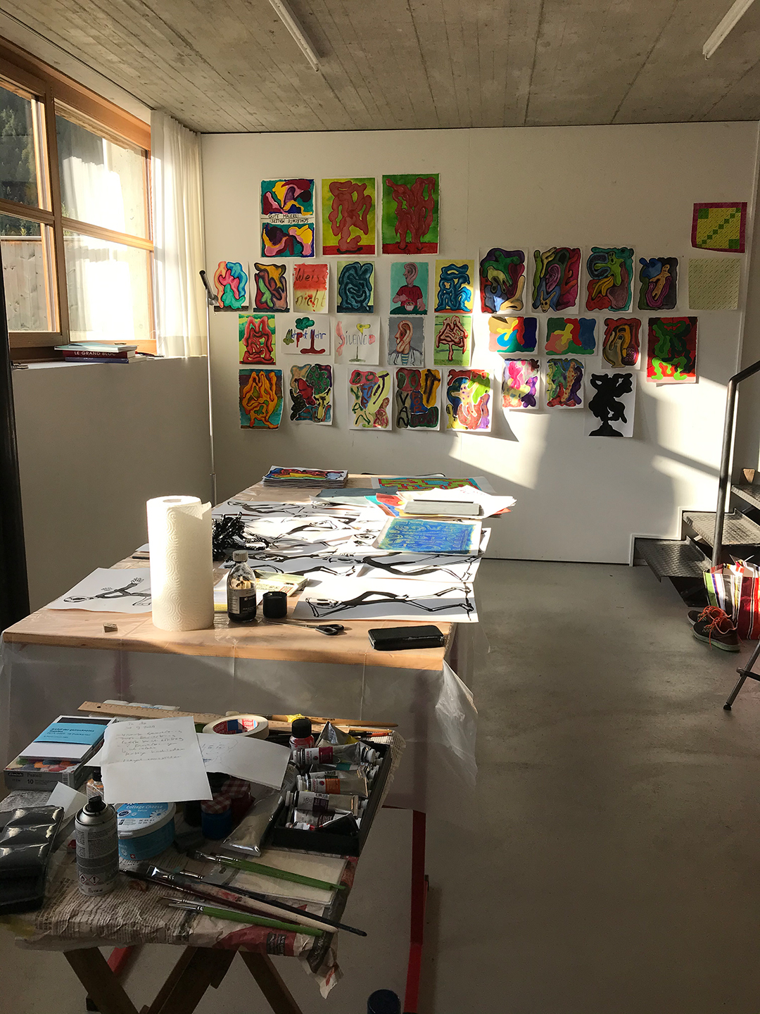 Studio view september 2020